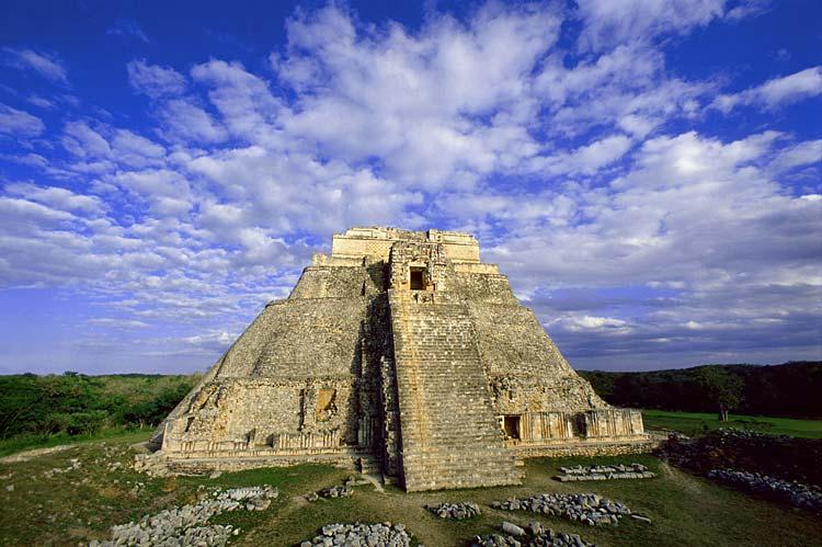 uxmal, gran piramide
